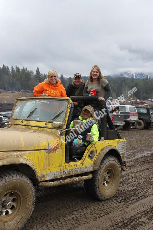 Jeep 4x4 full of gals, Moyie Springs Mud Bogs, Cool rides Car Show.com