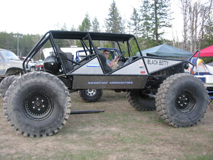 BLACK BETTY 4x4 creation, Moyie Nud Bogs, COOL RIDES CAR SHOW.com